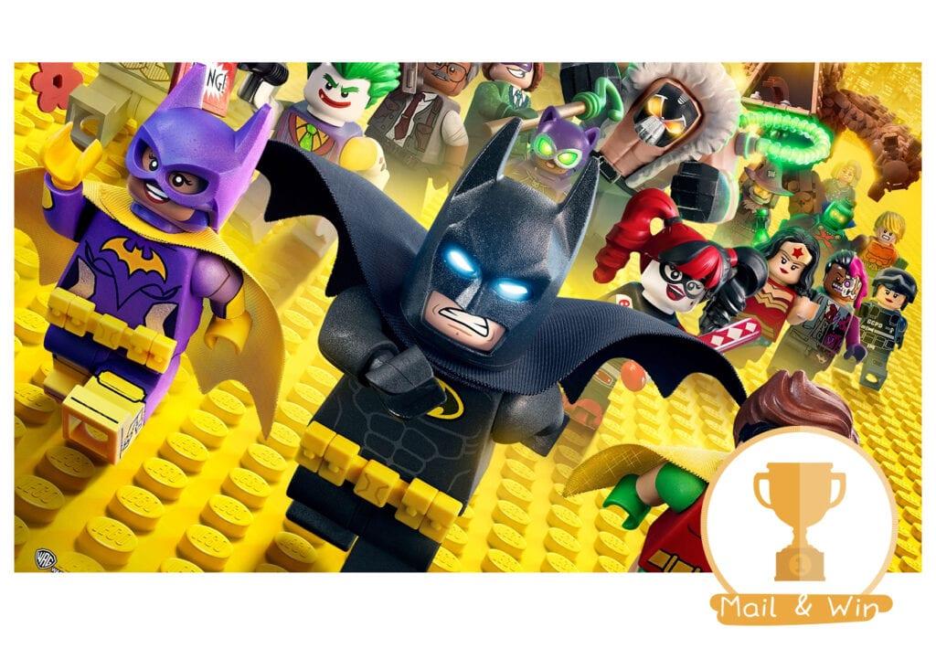 Win de nieuwe LEGO Batman film!