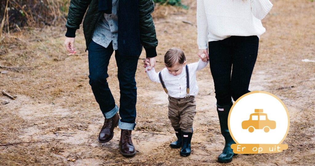 Ouders bewandelen met kind van vijftien maanden de Appalachian Trial