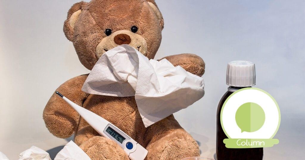 It is the season to be… sick! Deze 18 tips helpen je kleintje…