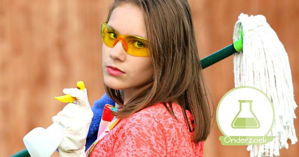 Mannen maken minder schoon in huis, maar zeuren meer!