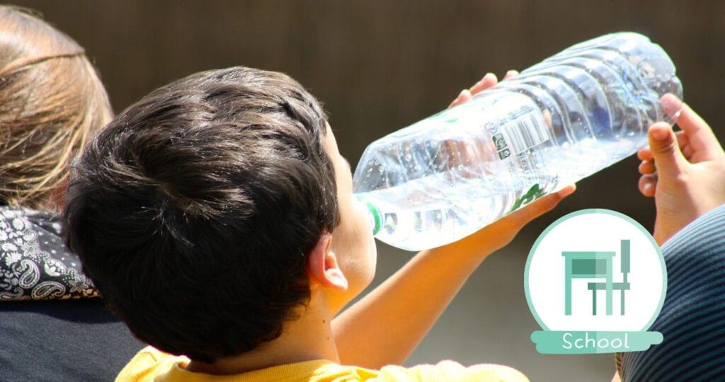 Alleen maar fruit en water op school. Hoe durven ze dit van ons te vragen?