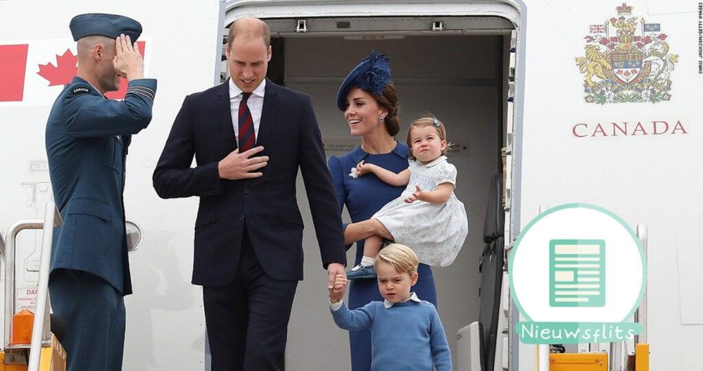 Prins William en Kate verwachten derde kindje