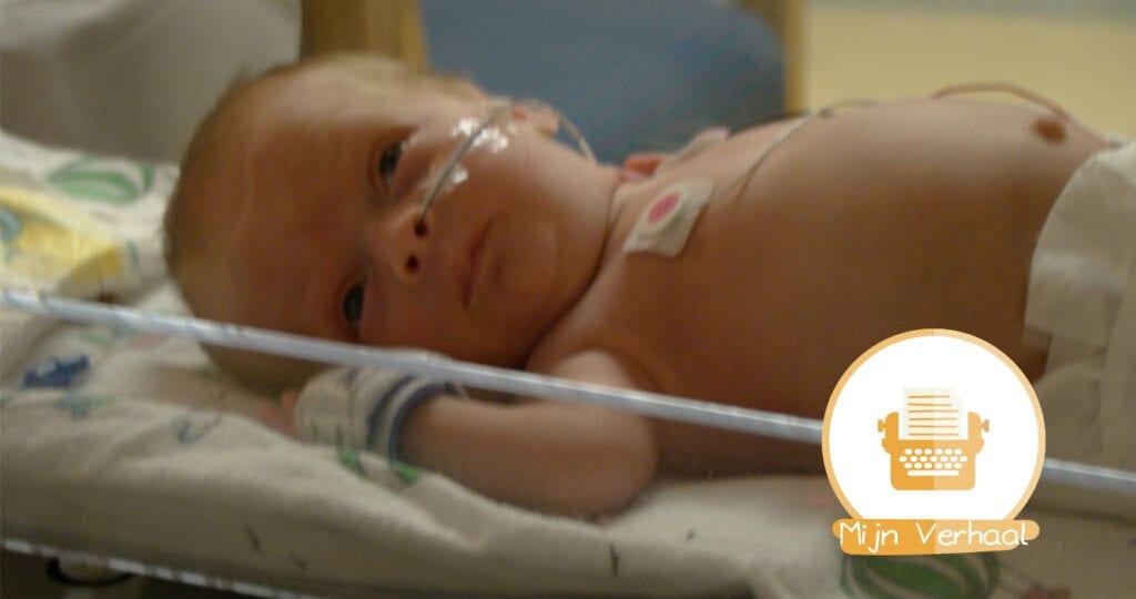 """Deel 1: """"Mijn kindje werd 3 maanden te vroeg geboren"""""""