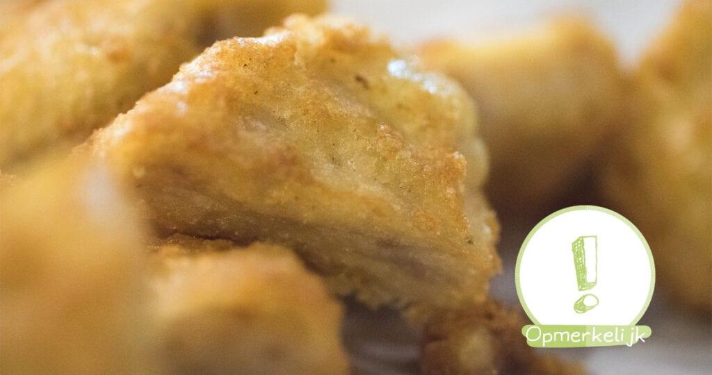 De vliezen waren gebroken, maar eerst nog even kipnuggets bestellen…