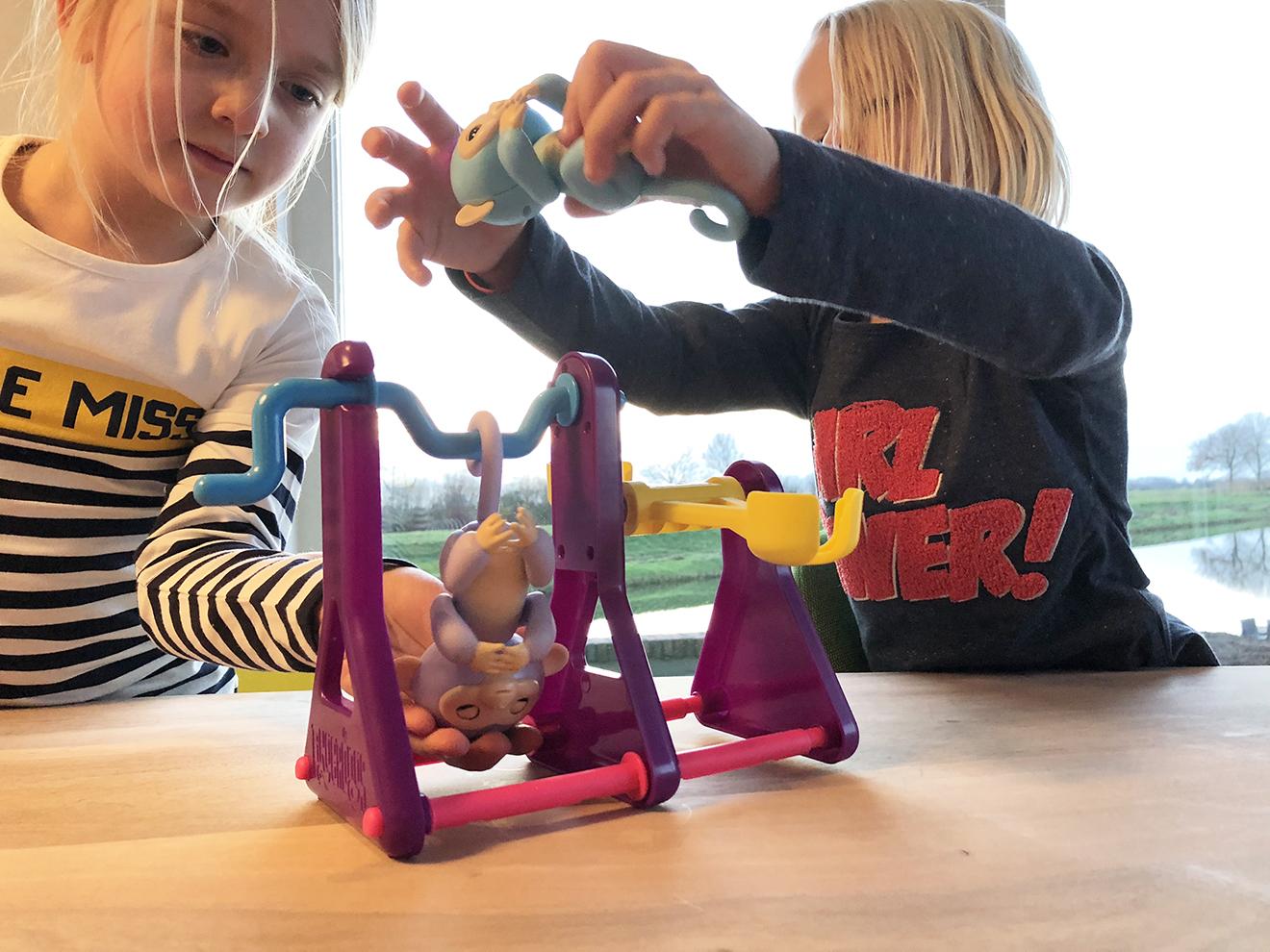 Fingerlings aapjes speelset