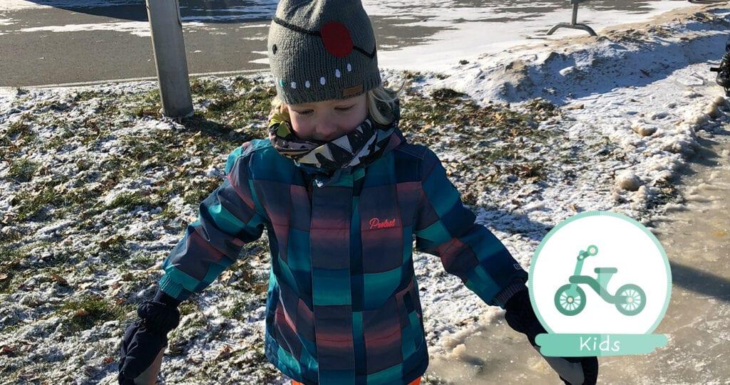 Ja het is koud, maar laat je kind gewoon lekker buitenspelen!