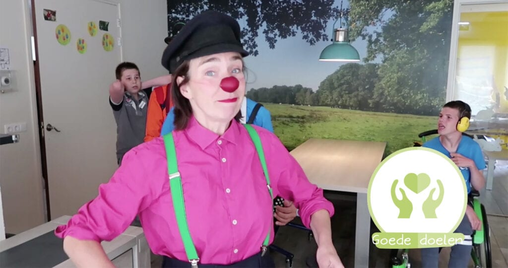 Niet storen, we hebben de CliniClowns op bezoek…