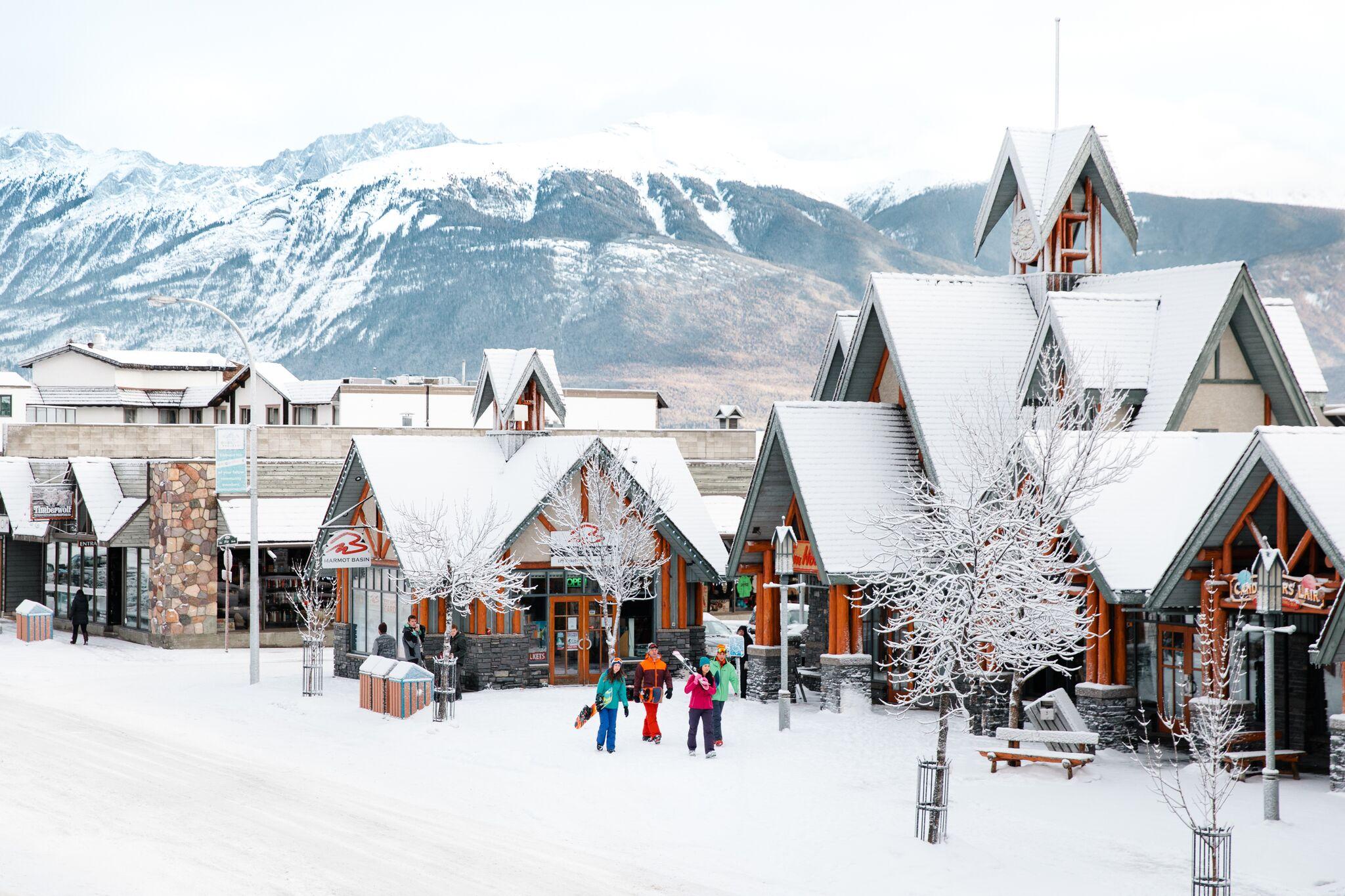 Wintersport naar Canada