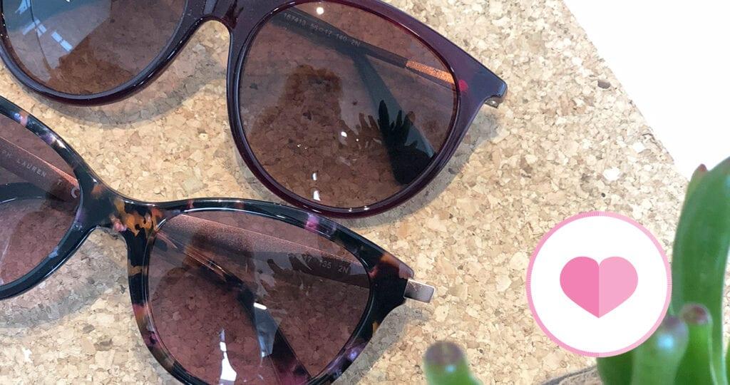 Onmisbaar in mijn handtas: zonnebrillen!