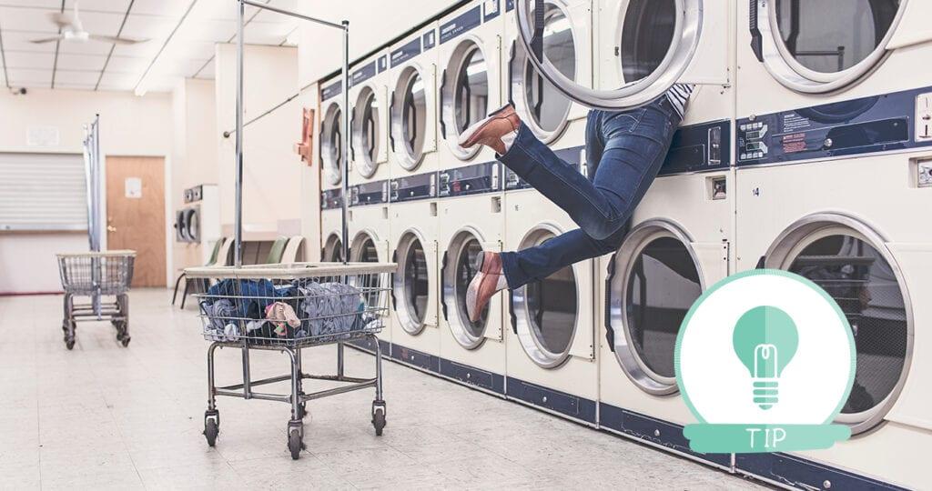 Tip om vanuit huis te werken: start een wasservice aan huis!