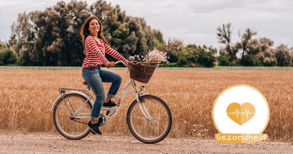 Pak wat vaker de fiets: goed voor jezelf én voor de kids