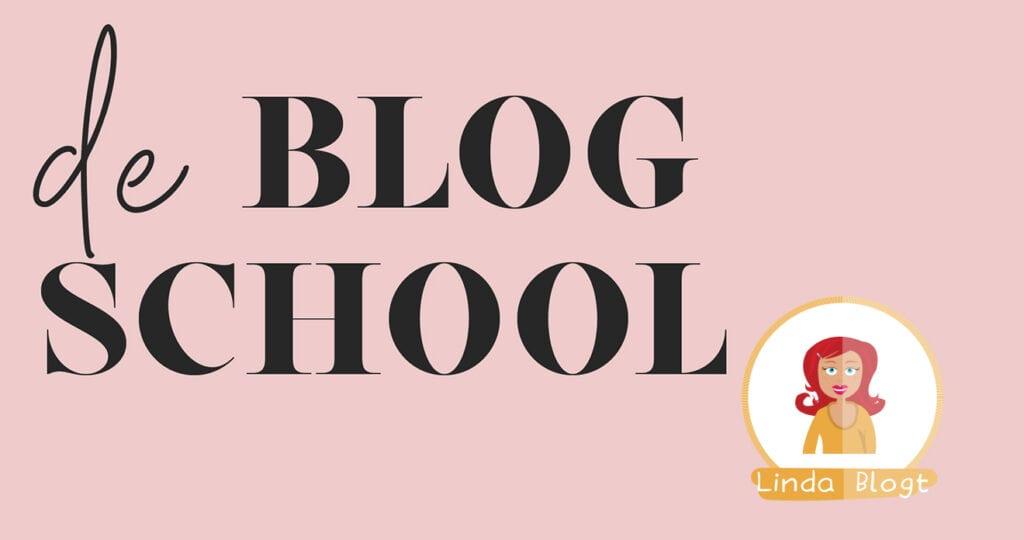 Bijna geopend: De Blogschool!