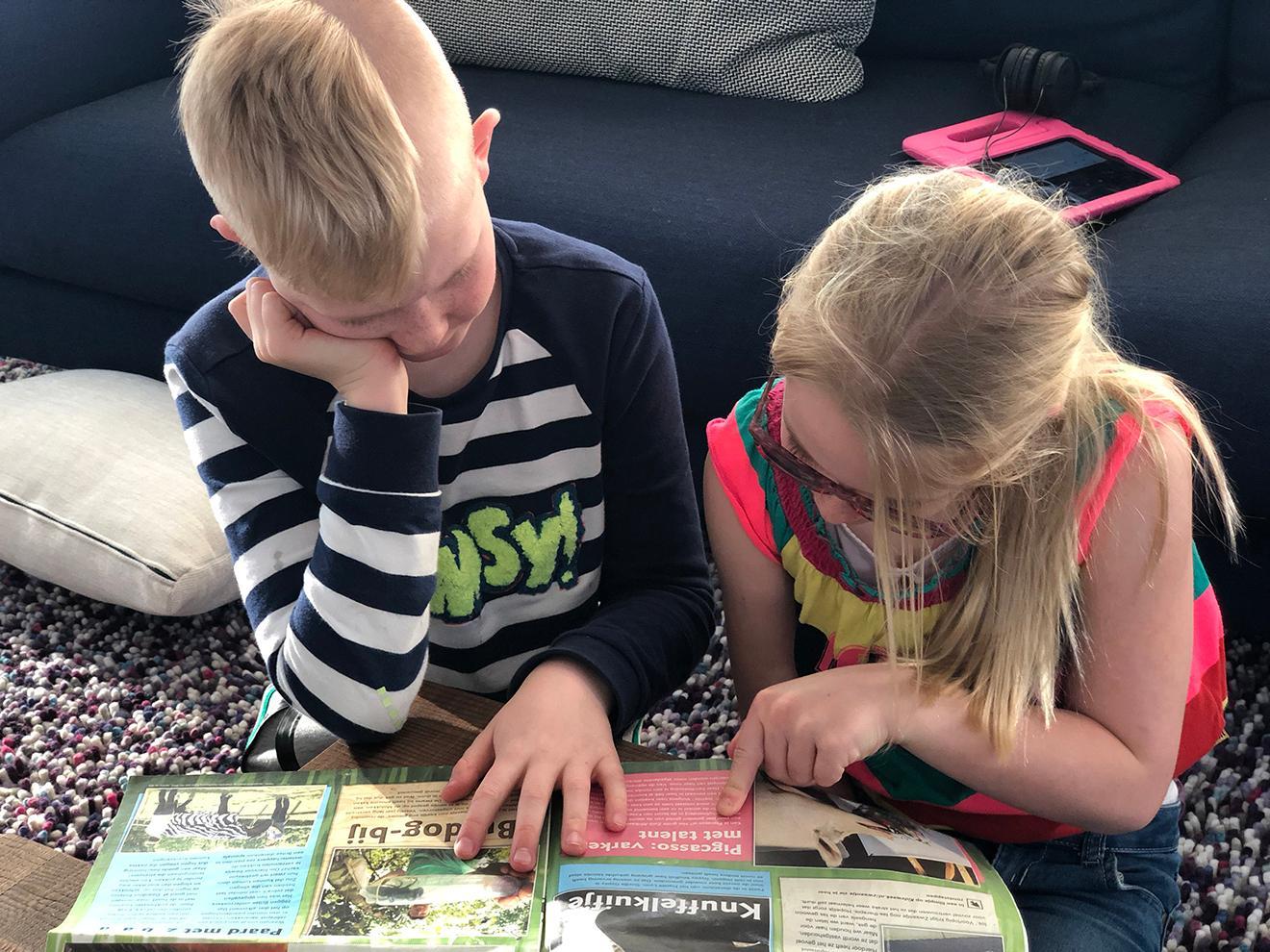 Kidsweek krant lezen