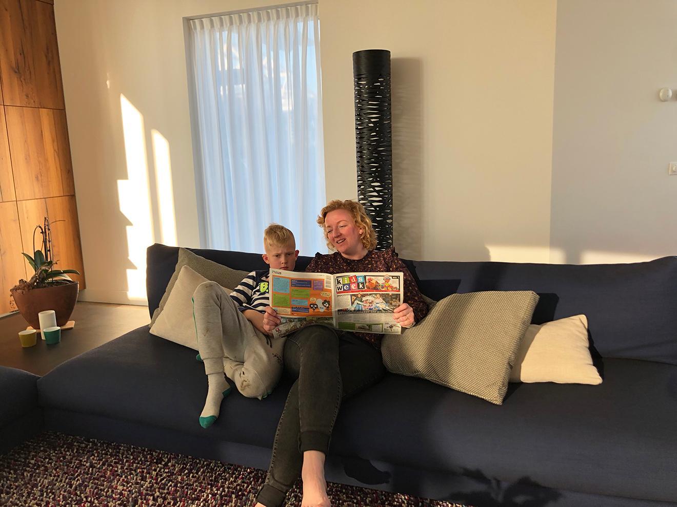 Samen Kidsweek lezen