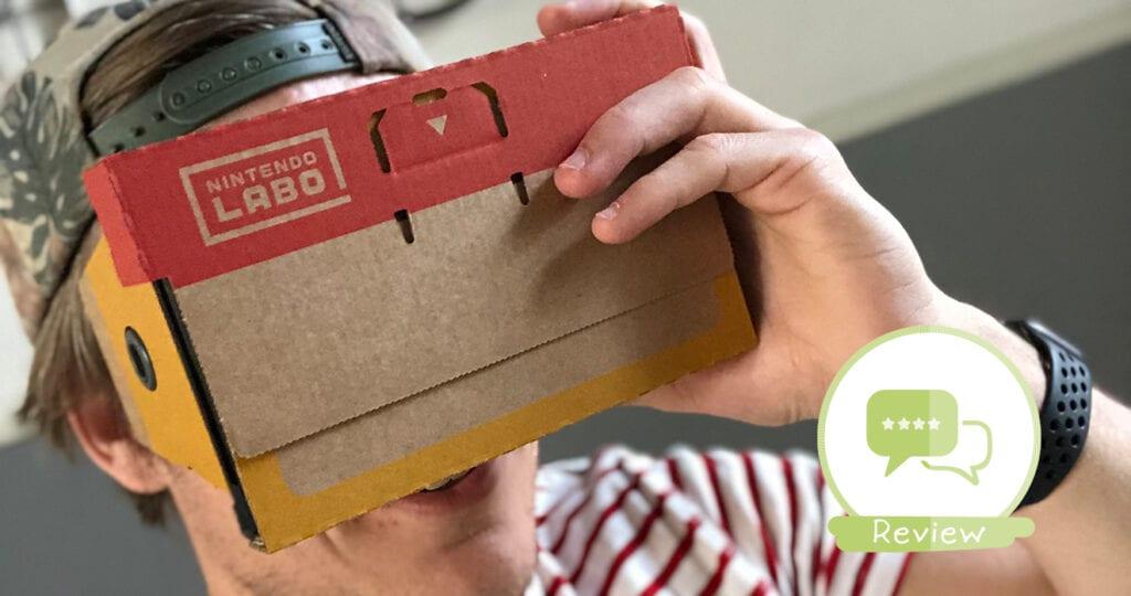 Dompel je kind onder in de wereld van virtual Reality met Nintendo Labo VR