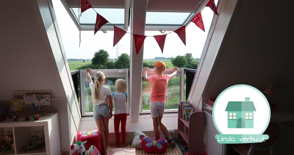 De nieuwe kamers van mijn kinderen!