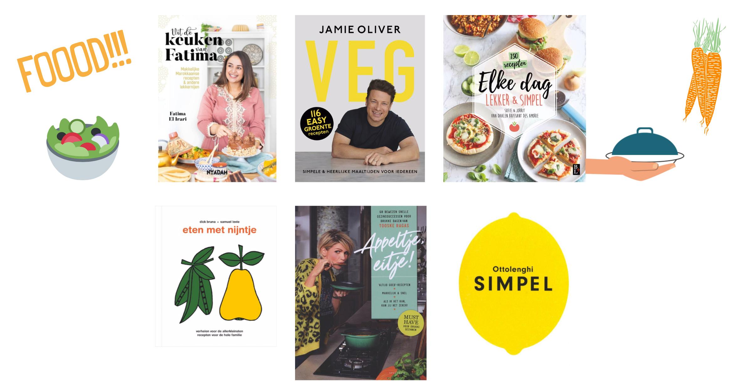 Kookboeken voor het gezin