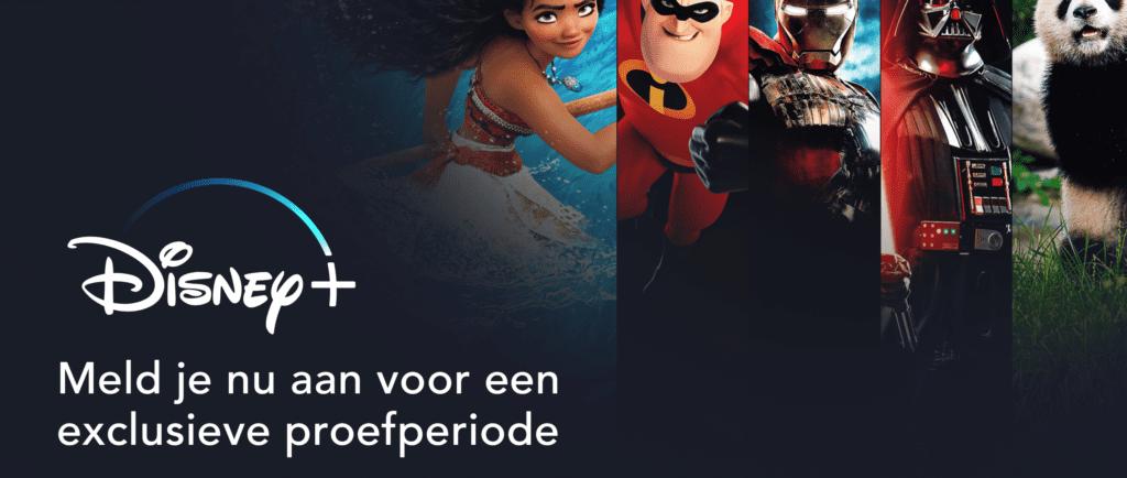 Disney+ gratis proberen