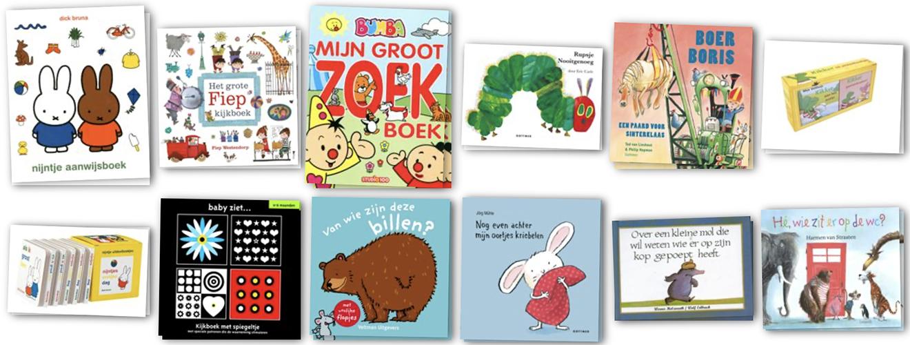 Babyboeken - voorlezen aan een baby