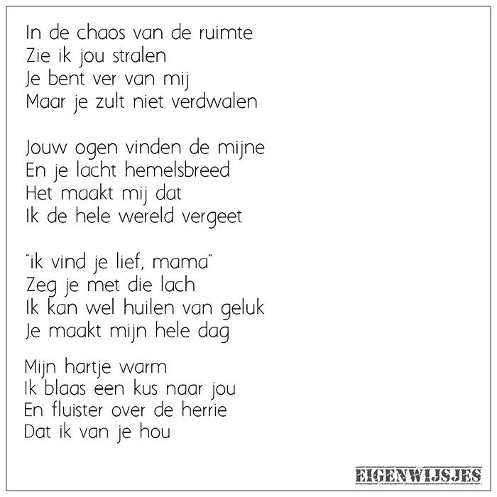 Gedicht liefde