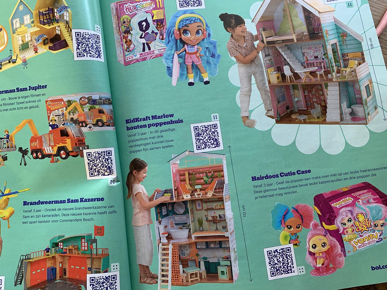 QR Codes Speelgoedboek Bol.com