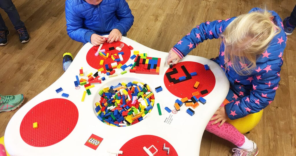 Spelen met LEGO is goed voor je gezondheid