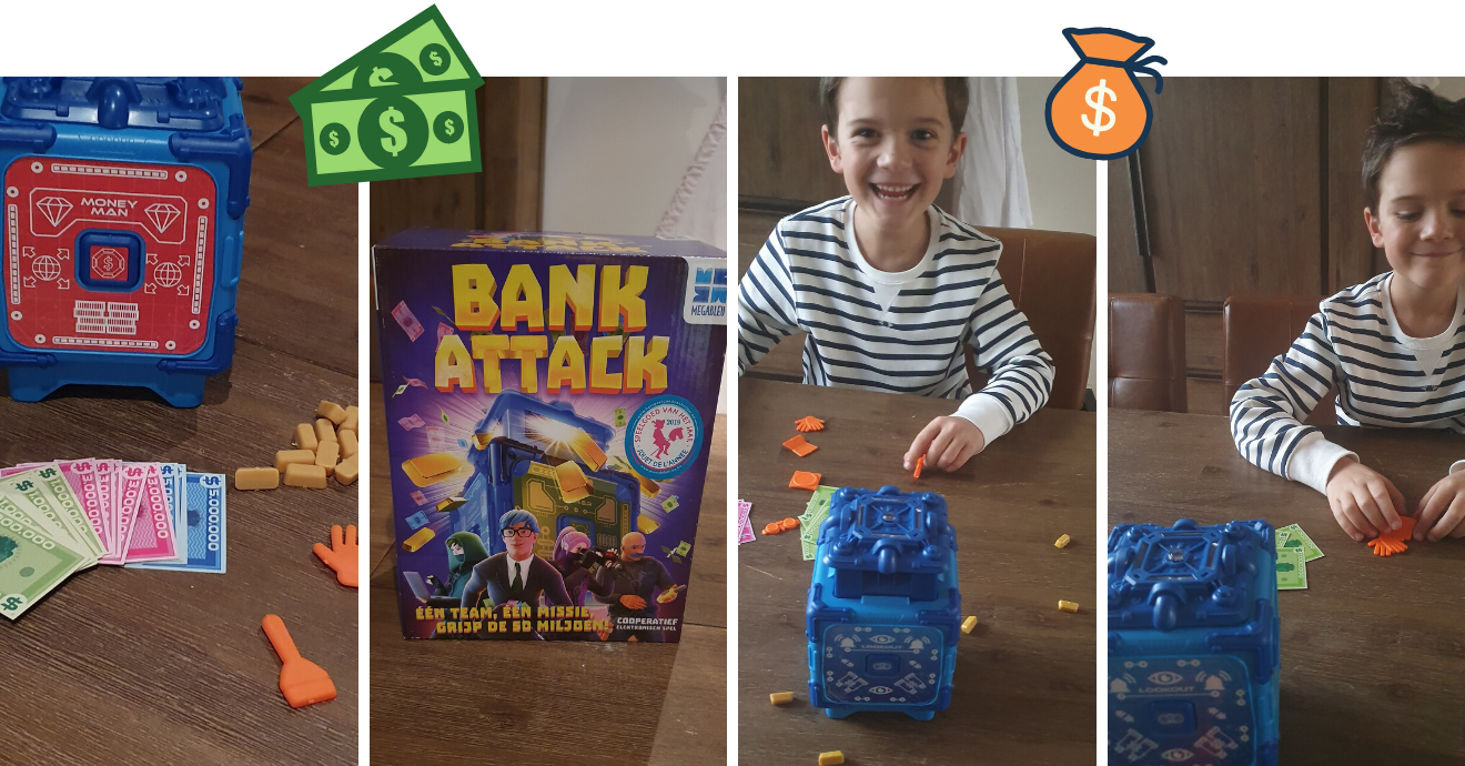 gezelschapsspel Bank Attack