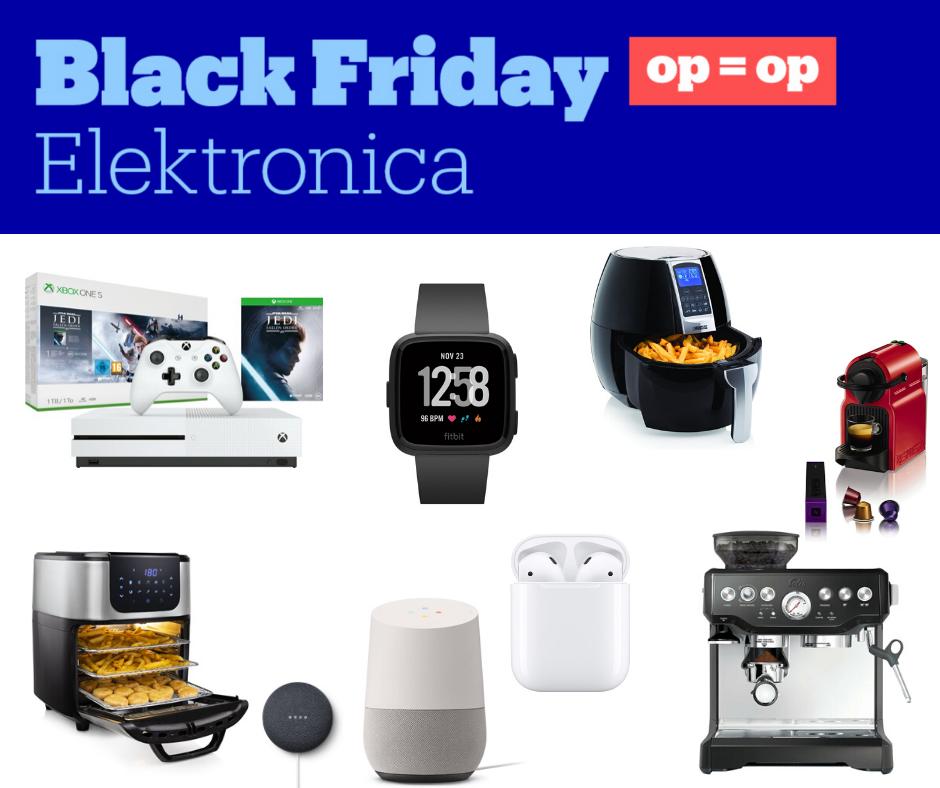 Black Friday Kortingen Elektronica