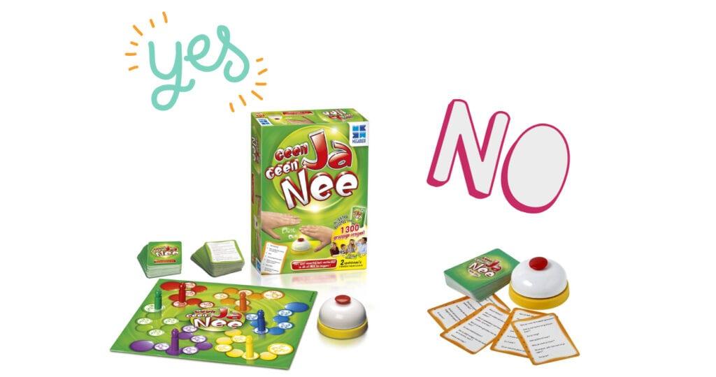 Review: Geen Ja Geen Nee bordspel