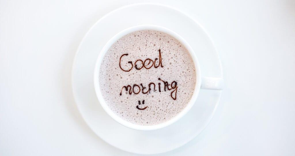 5 tips voor een goede start in de ochtend (en een productieve dag)
