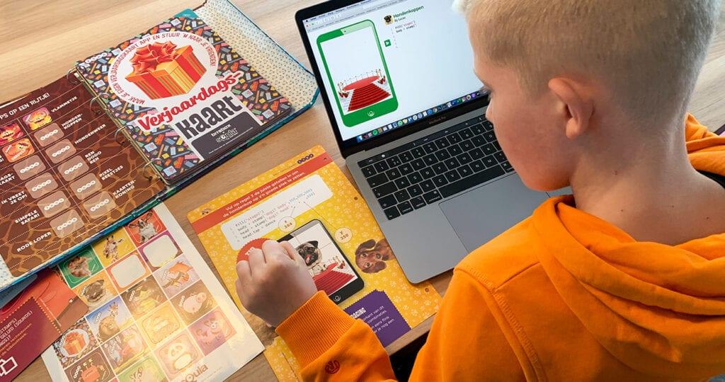 Hoe leer je je kind programmeren?