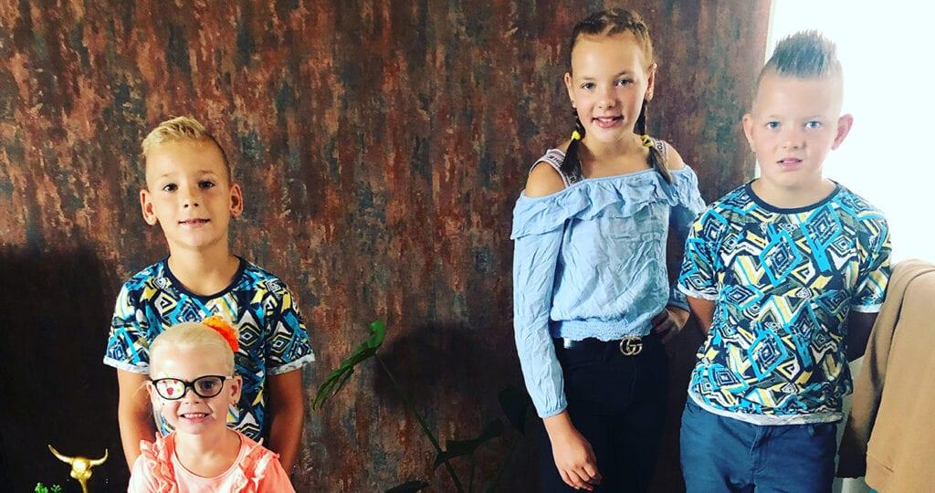 Melissa is een jonge moeder van 4 kinderen en komt bloggen!