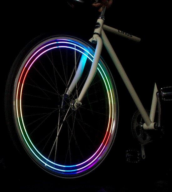 Led verlichting fietsbanden