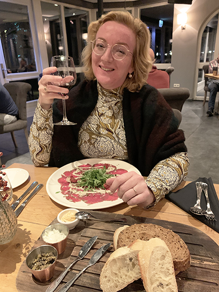 Lekker eten in Hotel Maashof