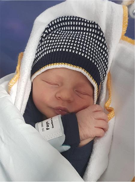 Mijn zoon is geboren!