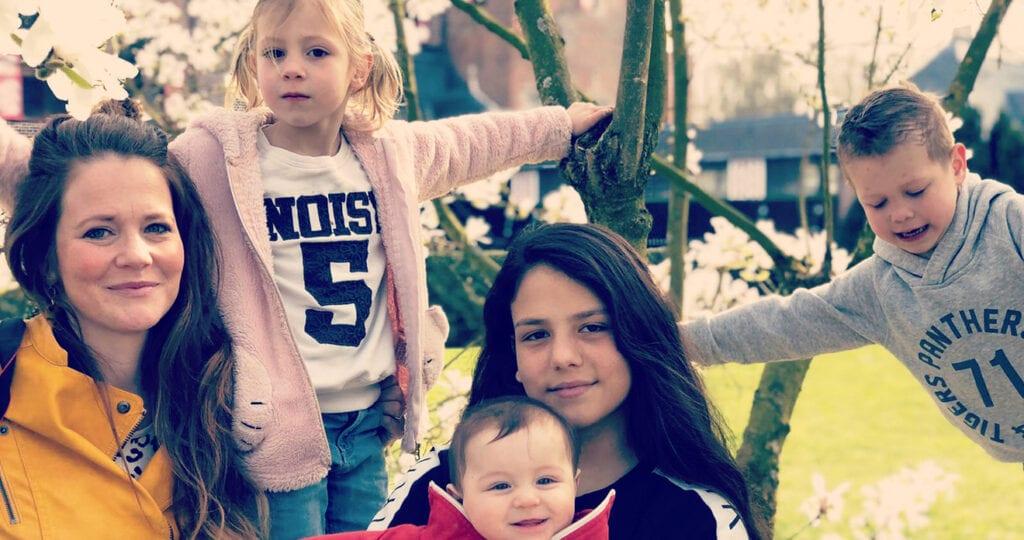 Moeder van 4 kinderen en een reislustig gezin