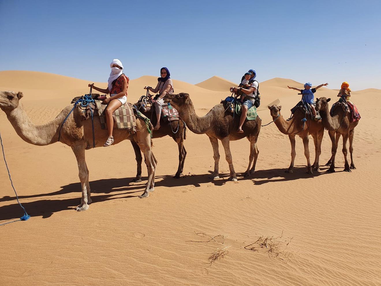 Naar Marokko met vier kinderen