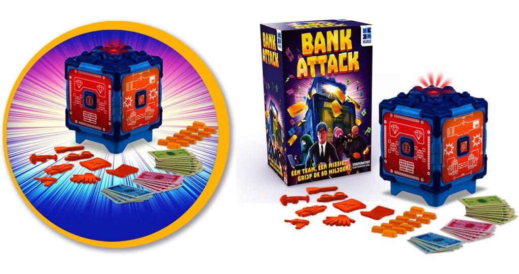 Review: gezelschapsspel Bank Attack