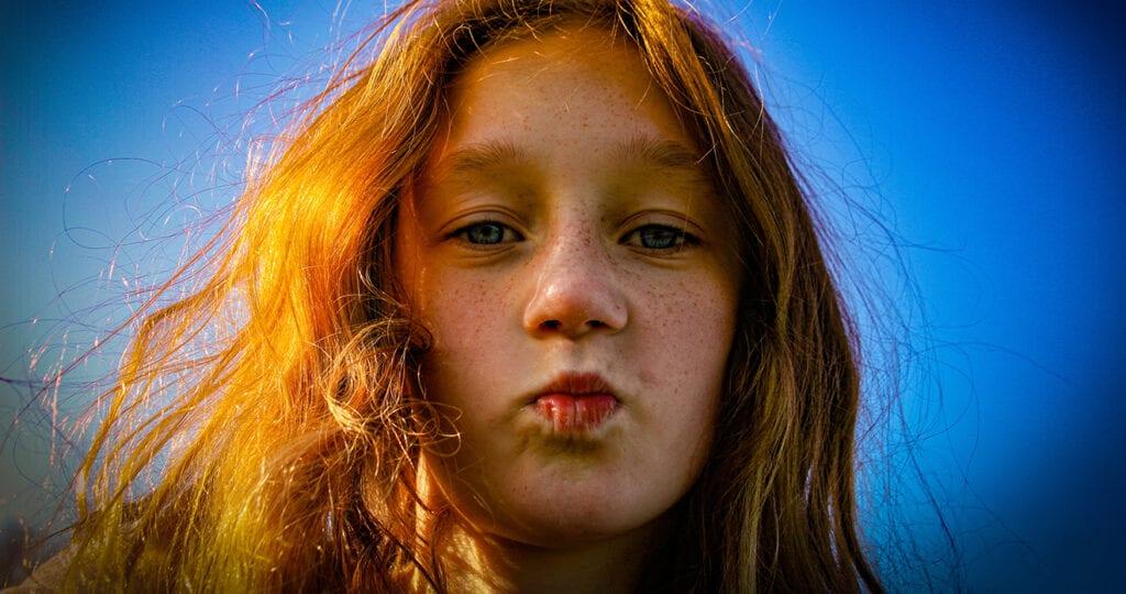 Blijf alsjeblieft tegen mijn roodharige kinderen zeggen dat hun haar prachtig is