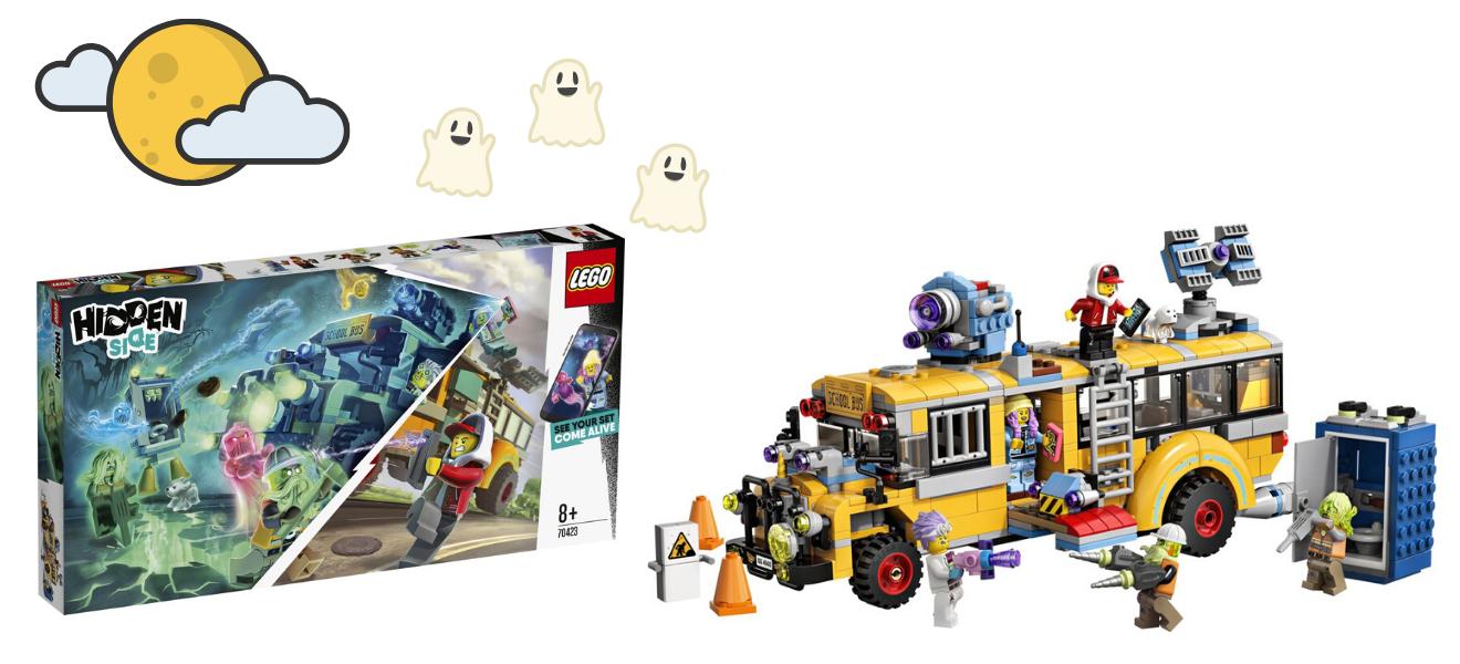 LEGO Hidden Side Paranormale Interceptiebus