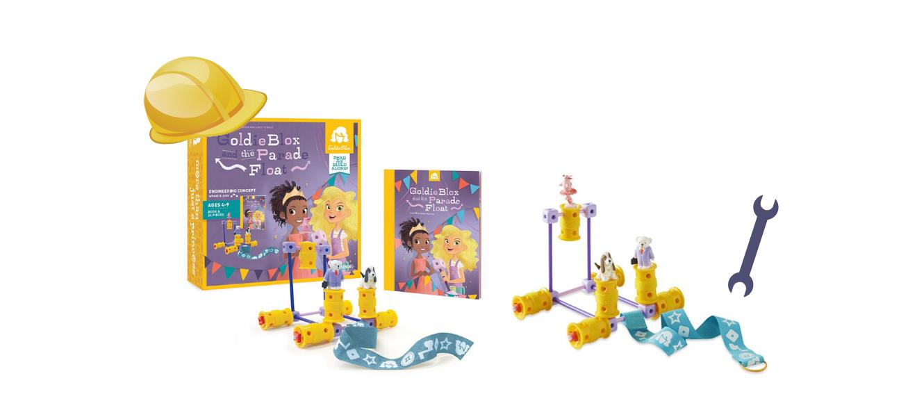 GoldieBlox Parade Float - Constructie bouwset