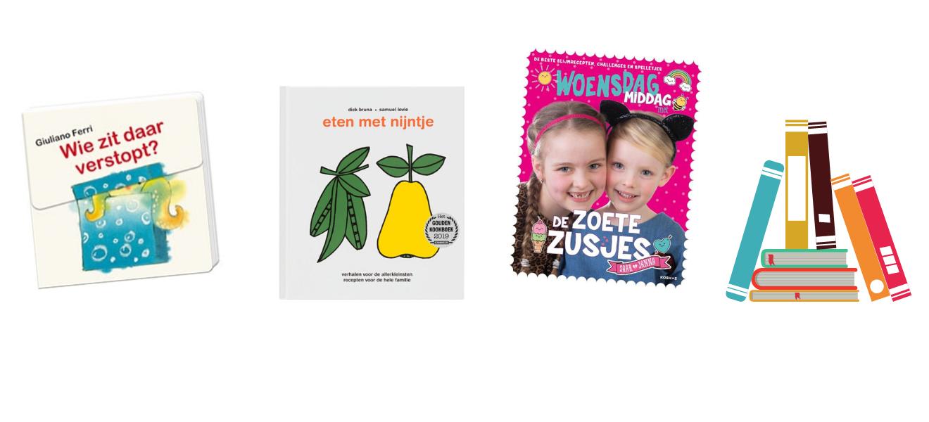 Sinterklaas cadeautjes voorleesboeken