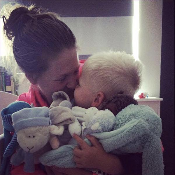 Chronisch zieke thuisblijfmoeder