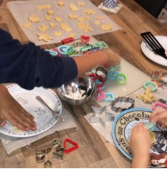 Koekjes bakken in de Kerstvakantie