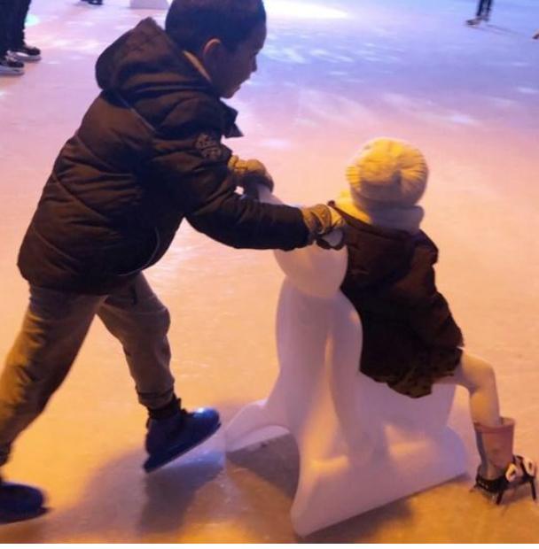 Schaatsen in de Kerstvakantie