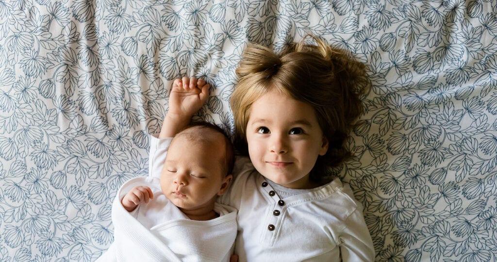 Onderzoek bevestigt: een tweede kind is lastiger dan de eerste