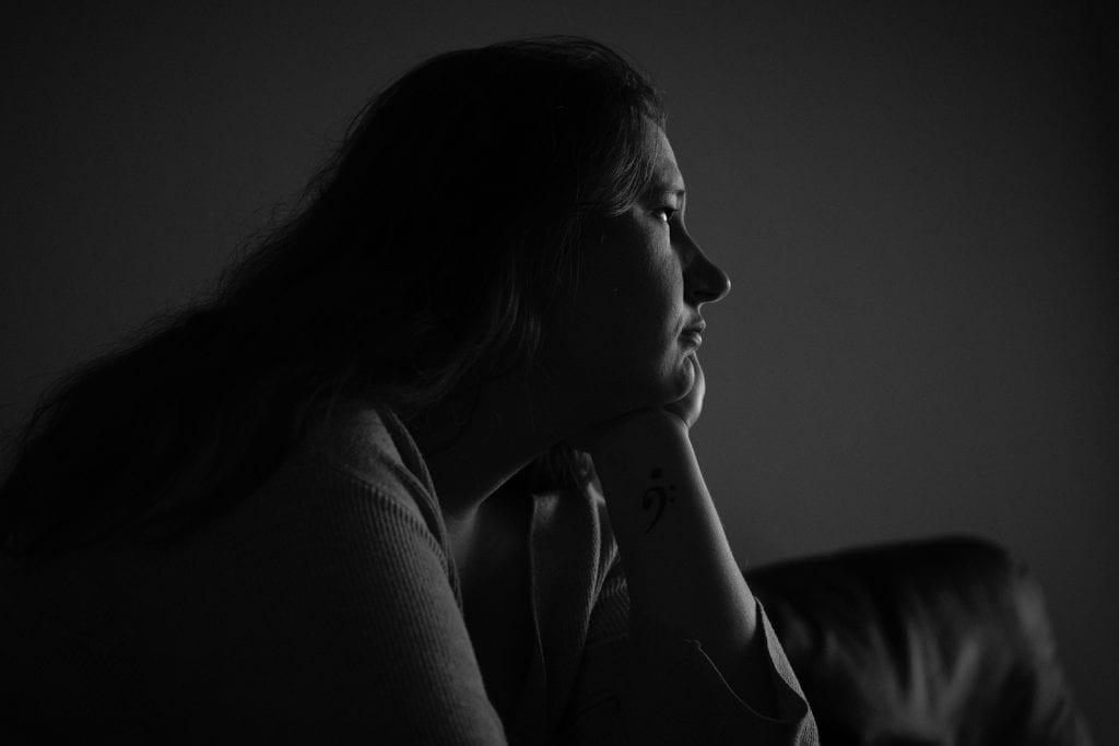 Rianne is gescheiden en bijstandsmoeder