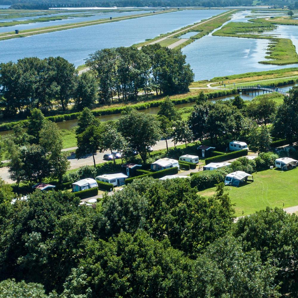 Camping- en recreatiepark de Koornmolen in Zevenhuizen