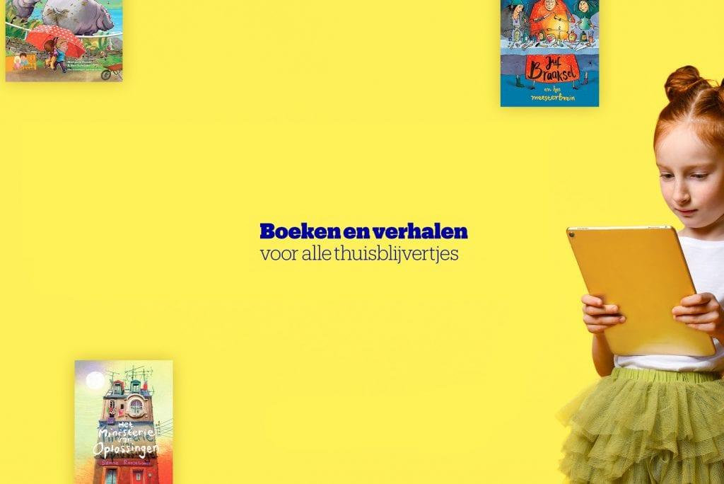 Leuke thuisblijftip: Gratis digitale boekenclub bol.com