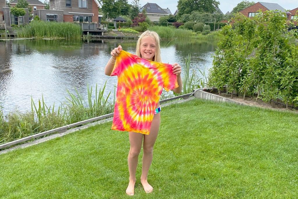 Tips Tie Dye shirts maken met kinderen